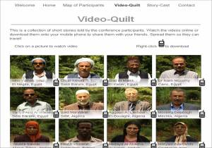 Farmers' Conference website video quilt