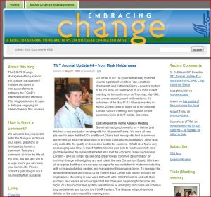 change blog